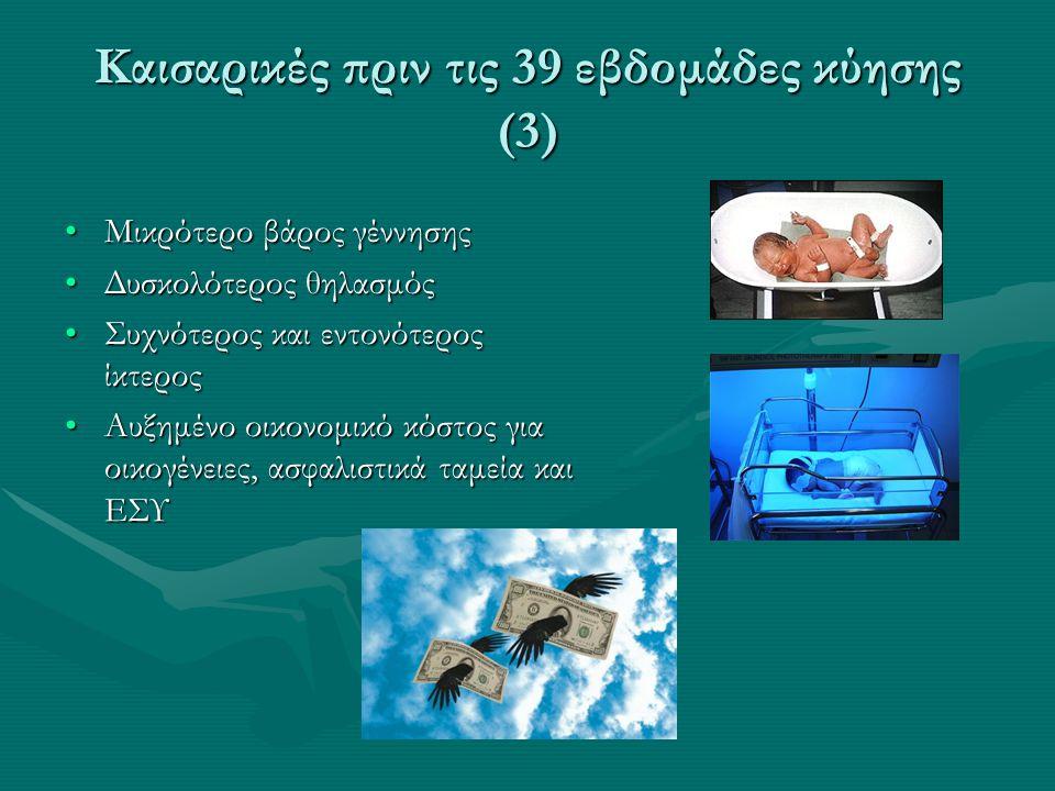 Καισαρικές πριν τις 39 εβδομάδες κύησης (3)