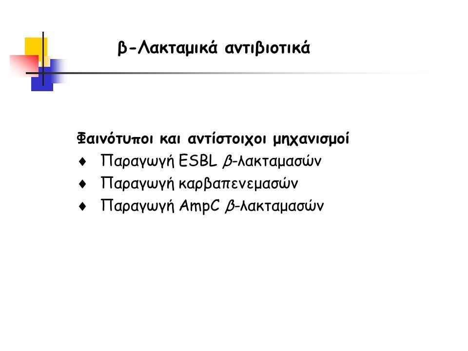 β-Λακταμικά αντιβιοτικά