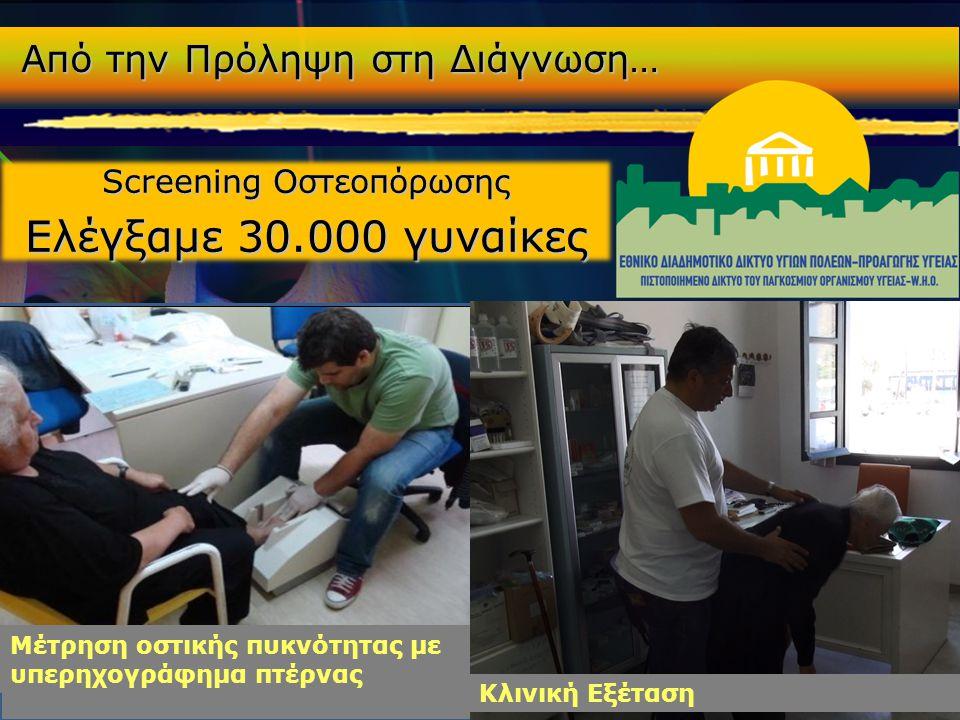 Screening Οστεοπόρωσης