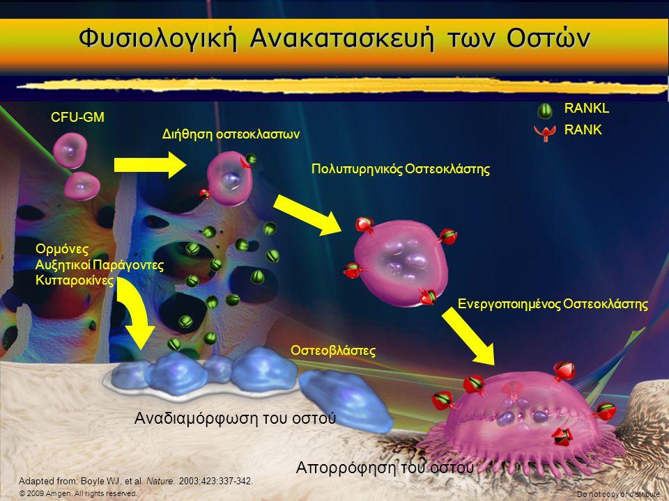 Φυσιολογική Ανακατασκευή των Οστών