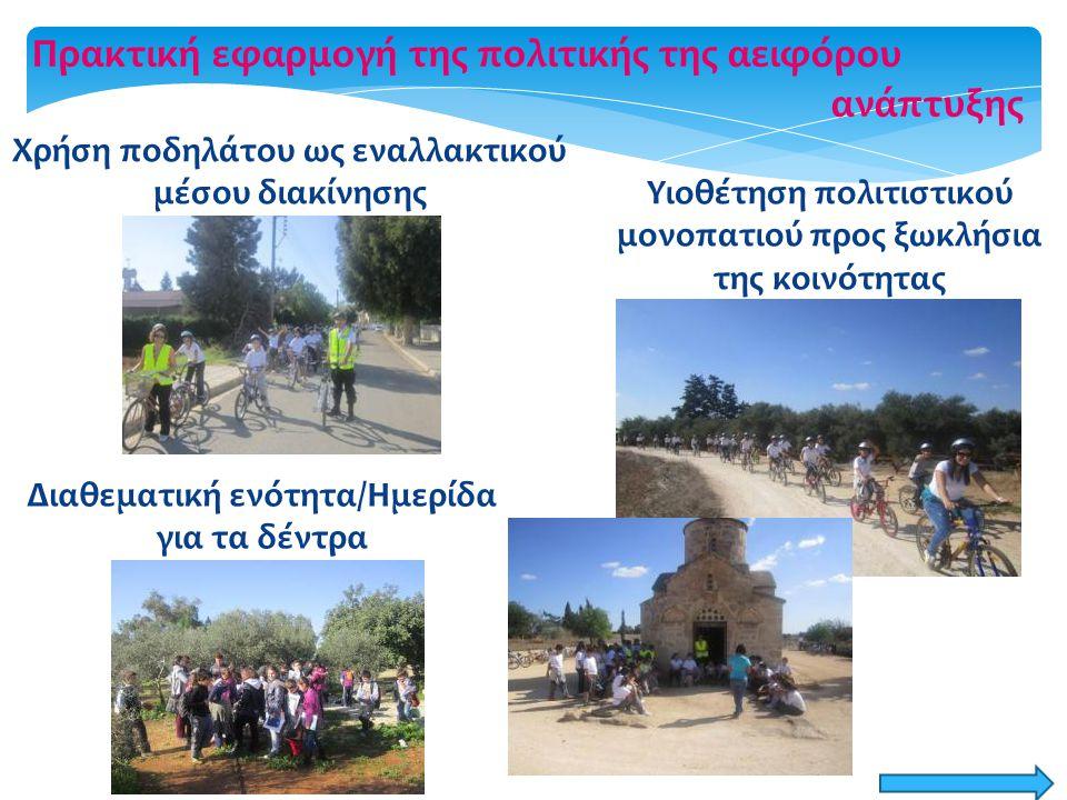 Χρήση ποδηλάτου ως εναλλακτικού μέσου διακίνησης