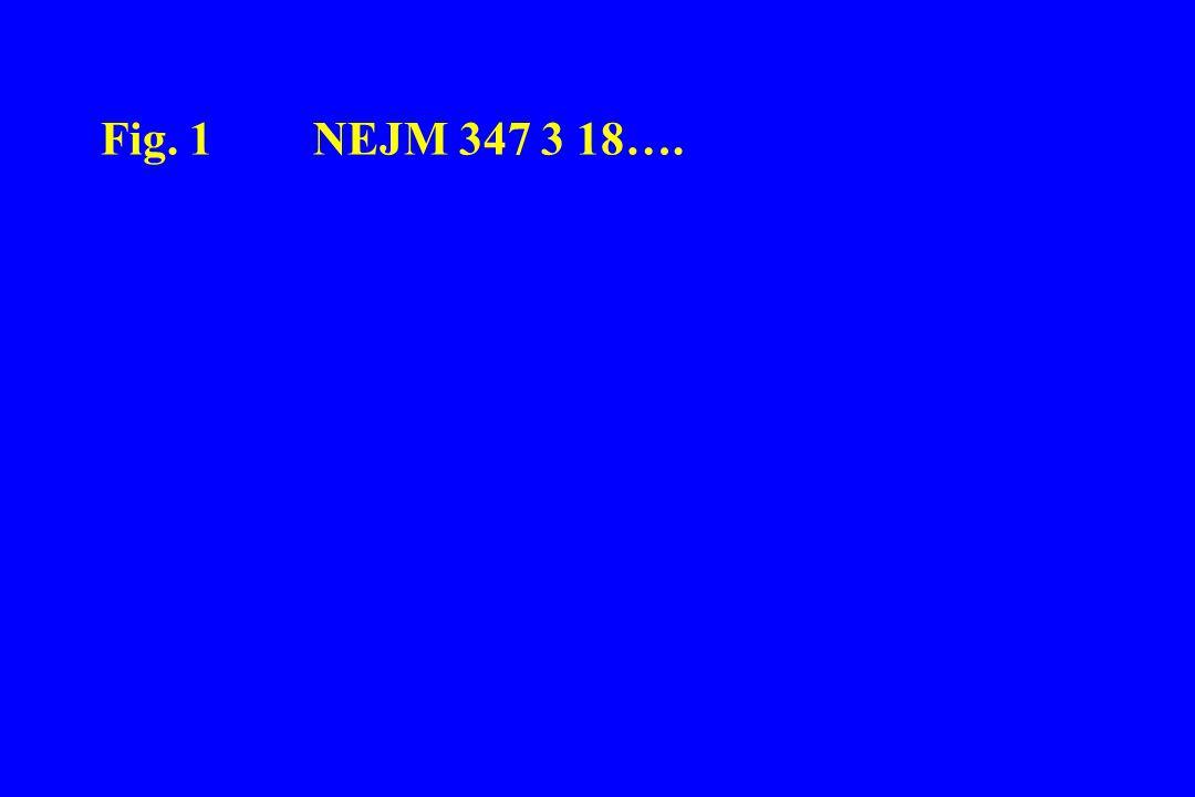 Fig. 1 NEJM 347 3 18….