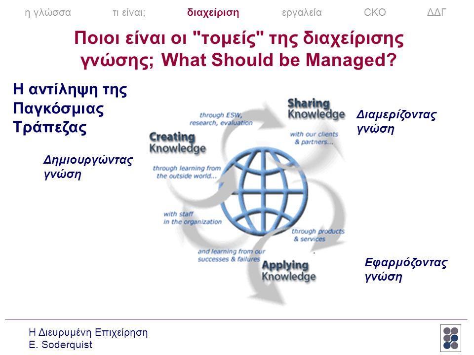 η γλώσσα τι είναι; διαχείριση εργαλεία CKO ΔΔΓ
