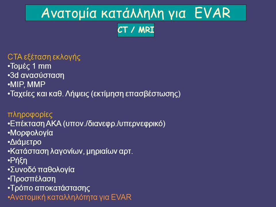 Ανατομία κατάλληλη για EVAR