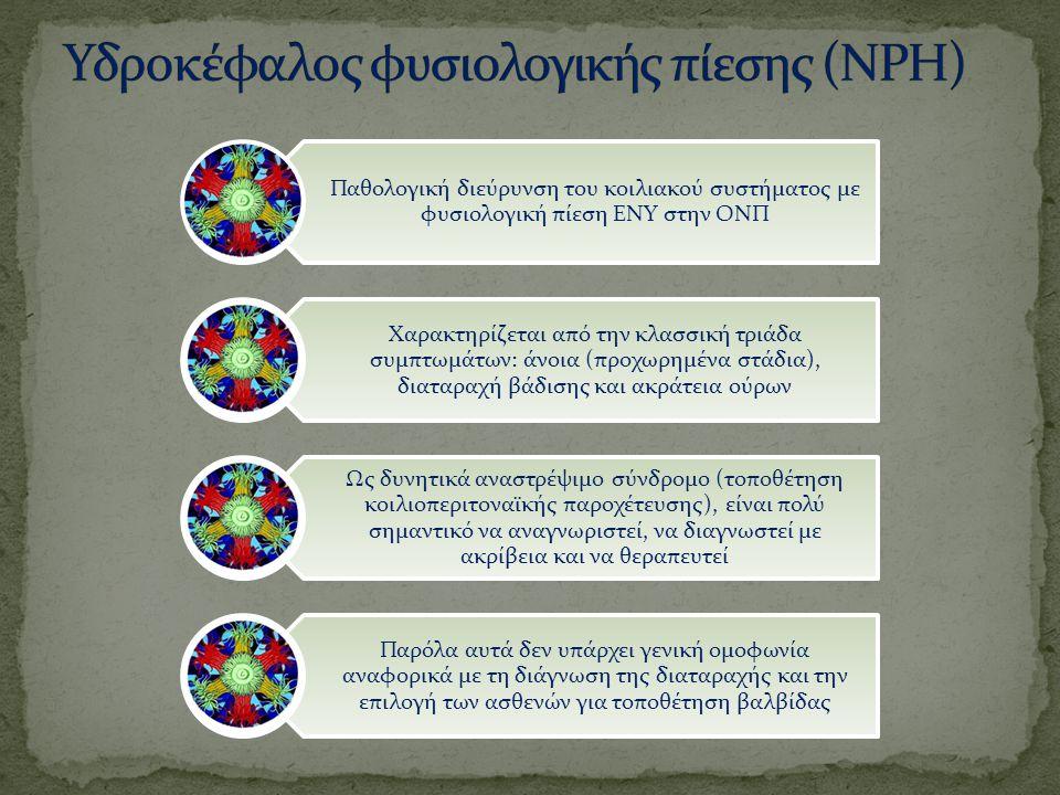 Υδροκέφαλος φυσιολογικής πίεσης (NPH)