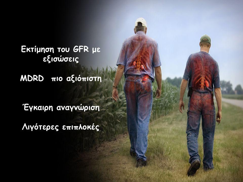 Εκτίμηση του GFR με εξισώσεις