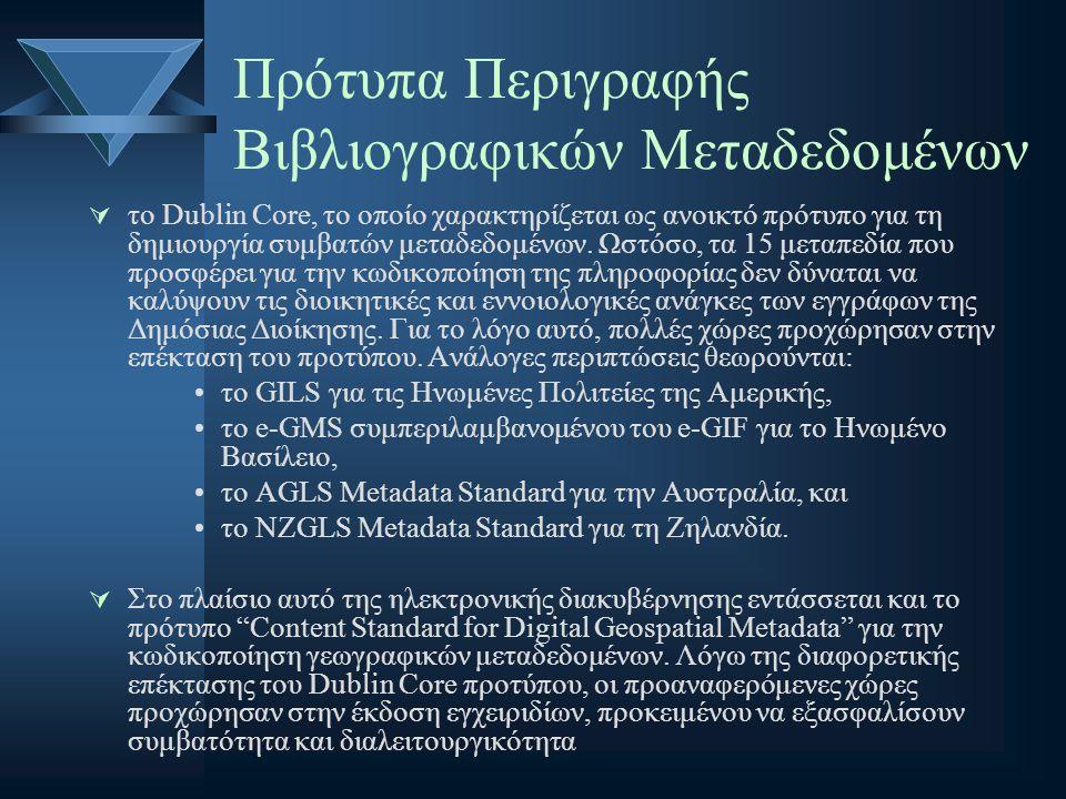 Πρότυπα Περιγραφής Βιβλιογραφικών Μεταδεδομένων