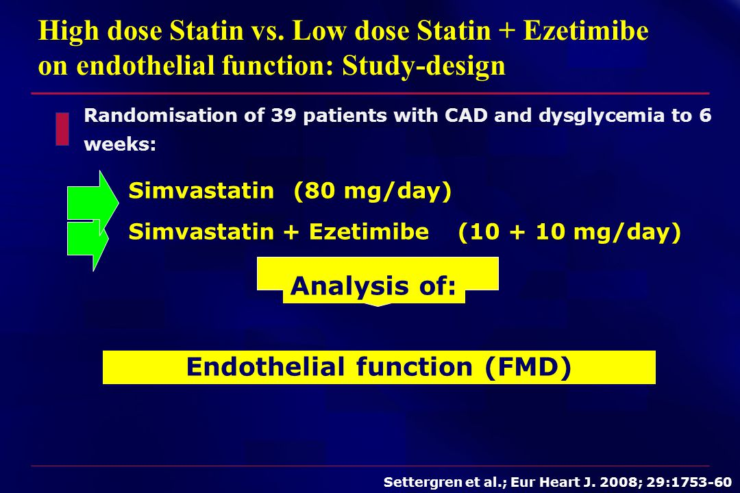 Endothelial function (FMD)