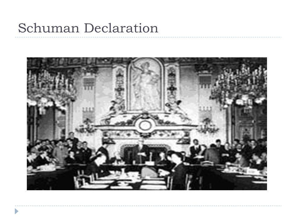 Schuman Declaration