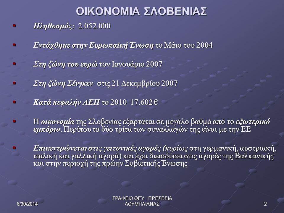 ΓΡΑΦΕΙΟ ΟΕΥ - ΠΡΕΣΒΕΙΑ ΛΟΥΜΠΛΙΑΝΑΣ