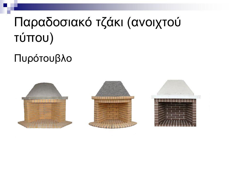 Παραδοσιακό τζάκι (ανοιχτού τύπου)