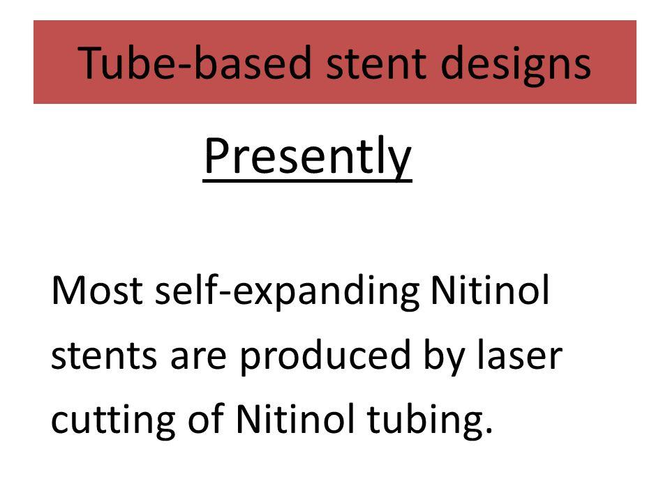 Tube-based stent designs