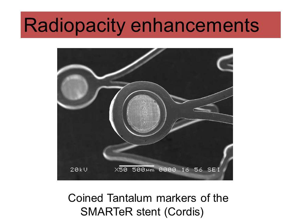 Radiopacity enhancements