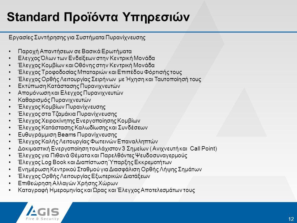 Standard Προϊόντα Υπηρεσιών