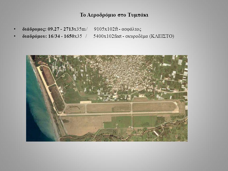 Το Αεροδρόμιο στο Τυμπάκι