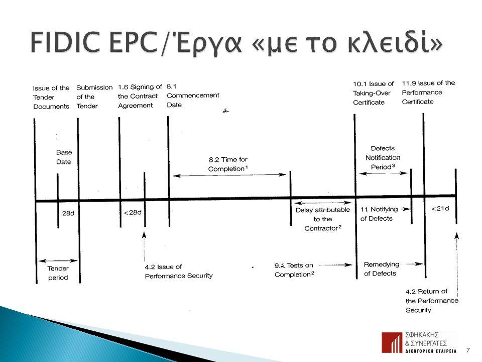 FIDIC EPC/Έργα «με το κλειδί»