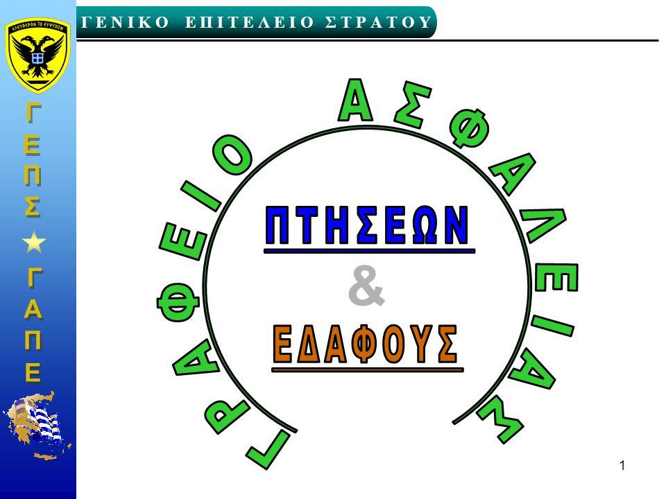 ΓΡΑΦΕΙΟ ΑΣΦΑΛΕΙΑΣ & ΠΤΗΣΕΩΝ ΕΔΑΦΟΥΣ