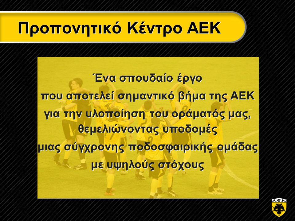 Προπονητικό Κέντρο ΑΕΚ