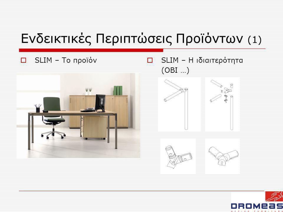 Ενδεικτικές Περιπτώσεις Προϊόντων (1)
