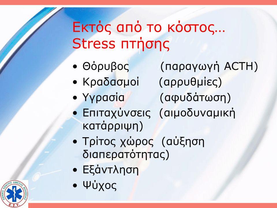 Εκτός από το κόστος… Stress πτήσης