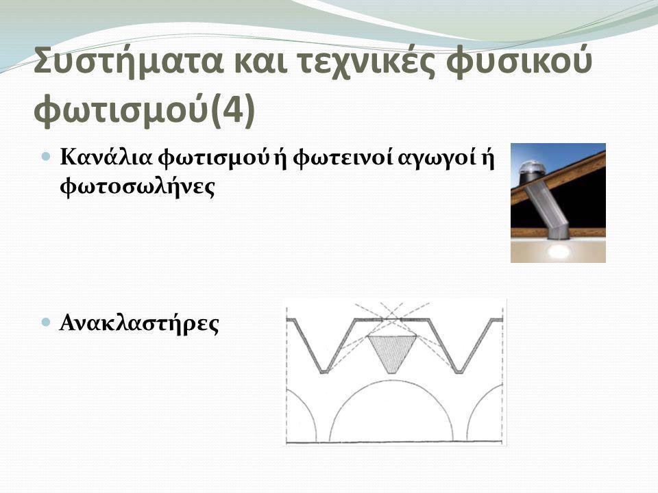 Συστήματα και τεχνικές φυσικού φωτισμού(4)