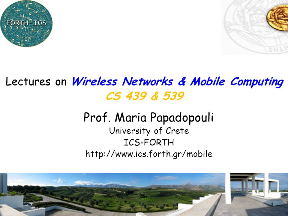 Prof. Maria Papadopouli