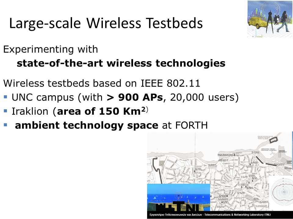 Large-scale Wireless Testbeds