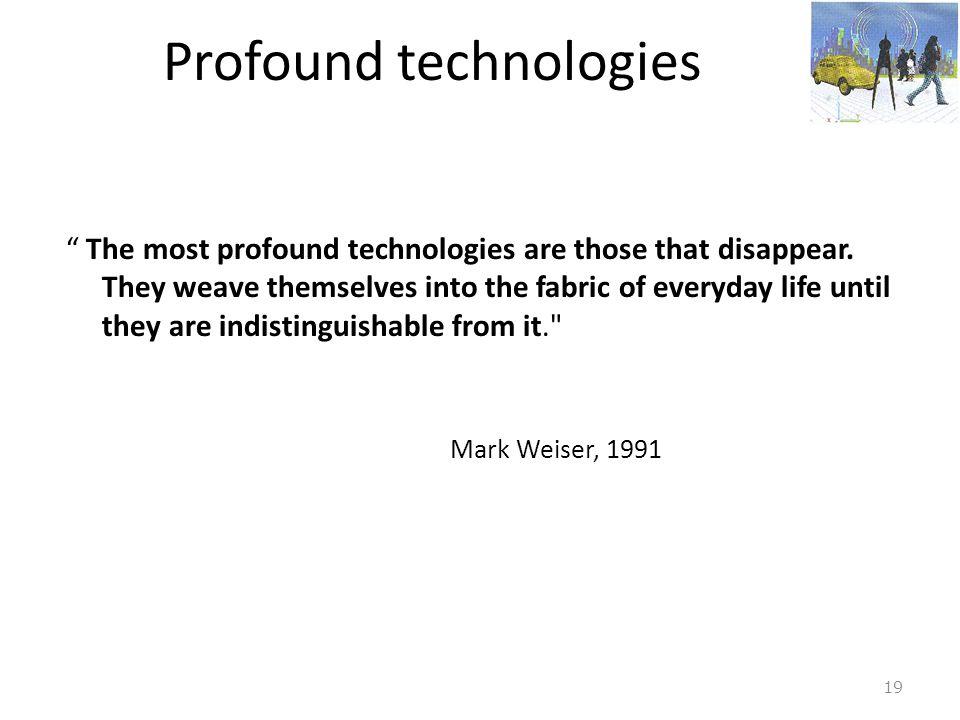 Profound technologies