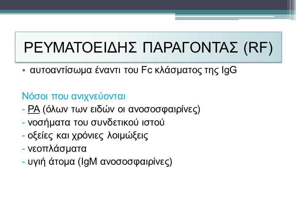 ΡΕΥΜΑΤΟΕΙΔΗΣ ΠΑΡΑΓΟΝΤΑΣ (RF)