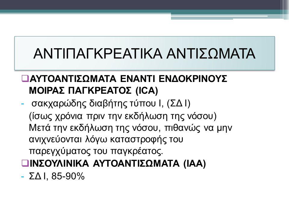 ΑΝΤΙΠΑΓΚΡΕΑΤΙΚΑ ΑΝΤΙΣΩΜΑΤΑ