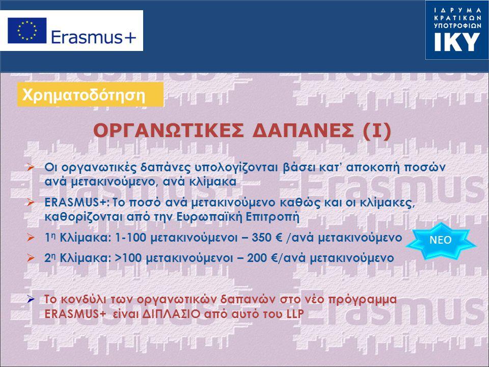 ΟΡΓΑΝΩΤΙΚΕΣ ΔΑΠΑΝΕΣ (I)