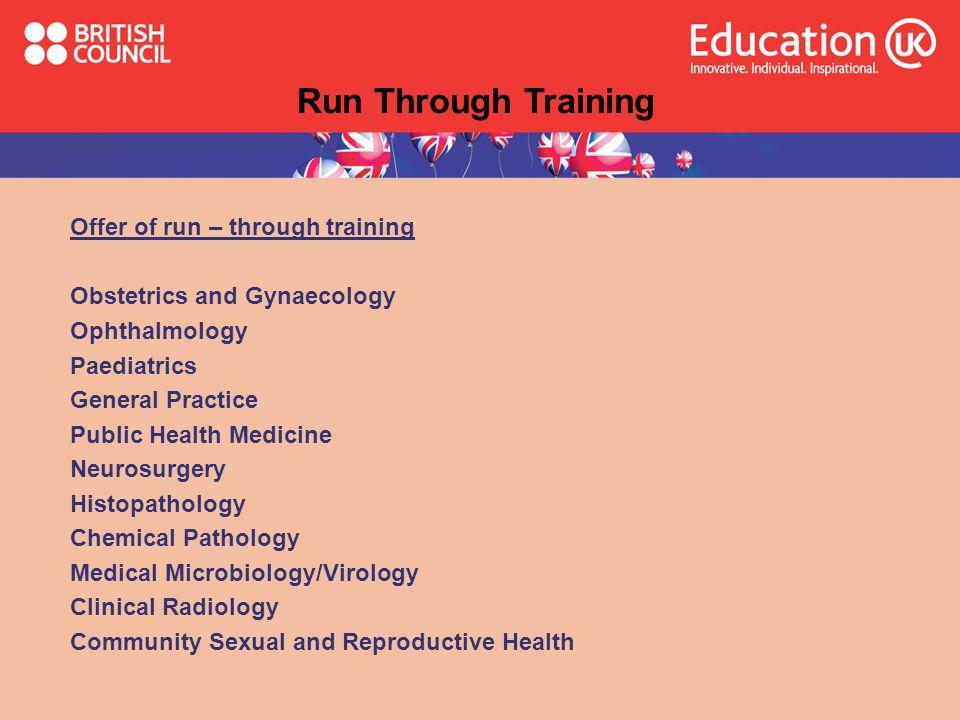 Run Through Training