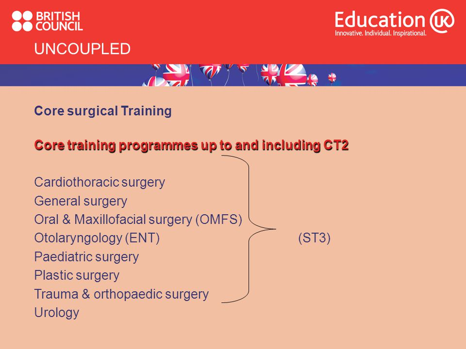 UNCOUPLED Core surgical Training