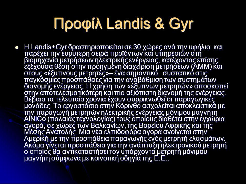 Προφίλ Landis & Gyr