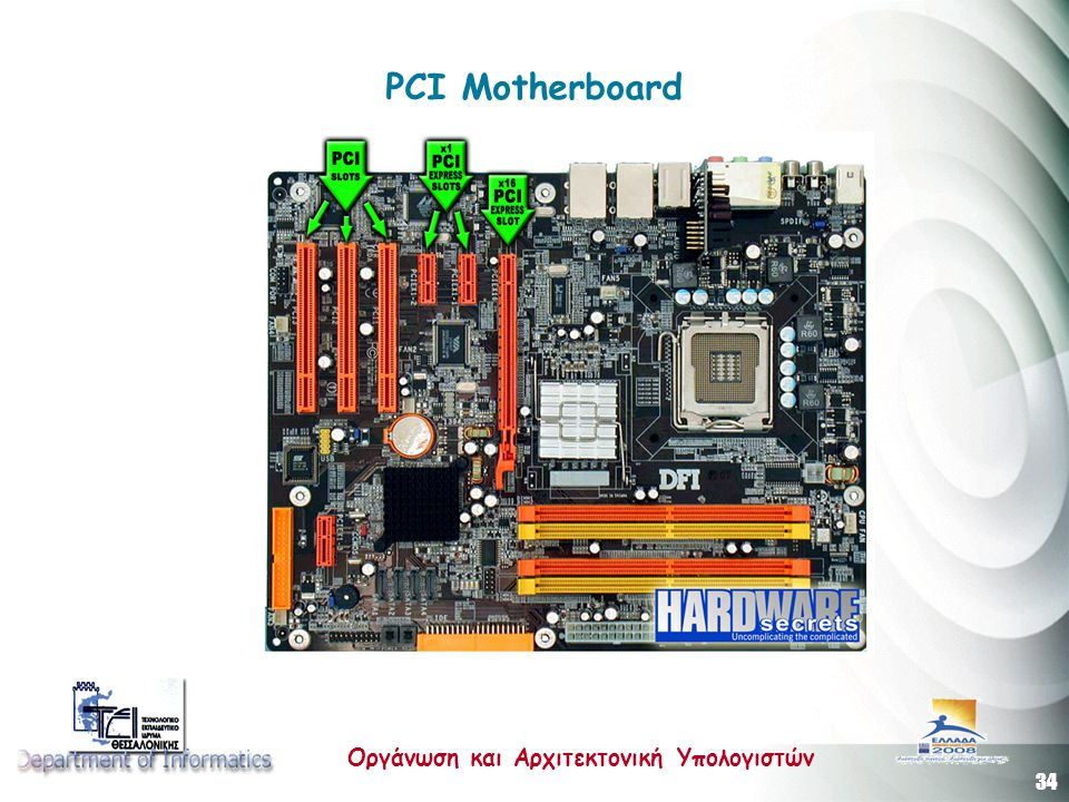PCI Motherboard