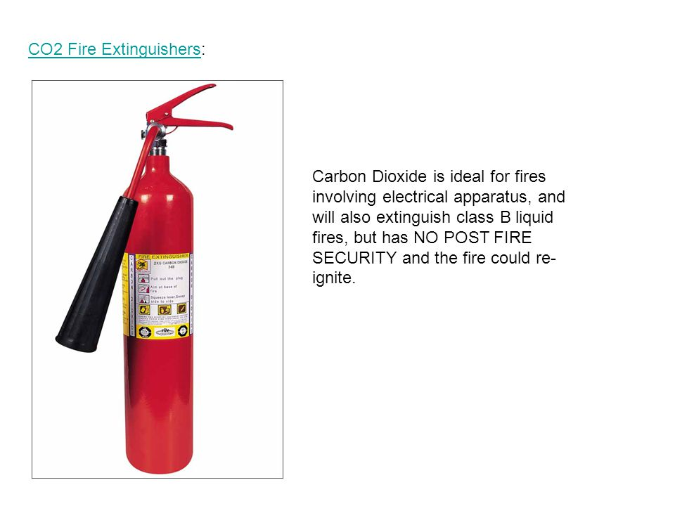 CO2 Fire Extinguishers: