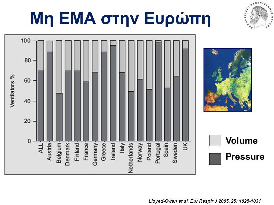 Μη ΕΜΑ στην Ευρώπη Volume Pressure