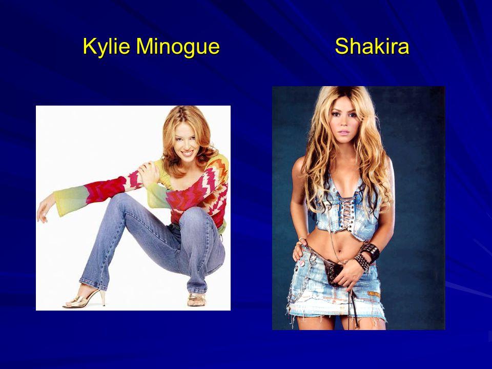 Kylie Minogue Shakira