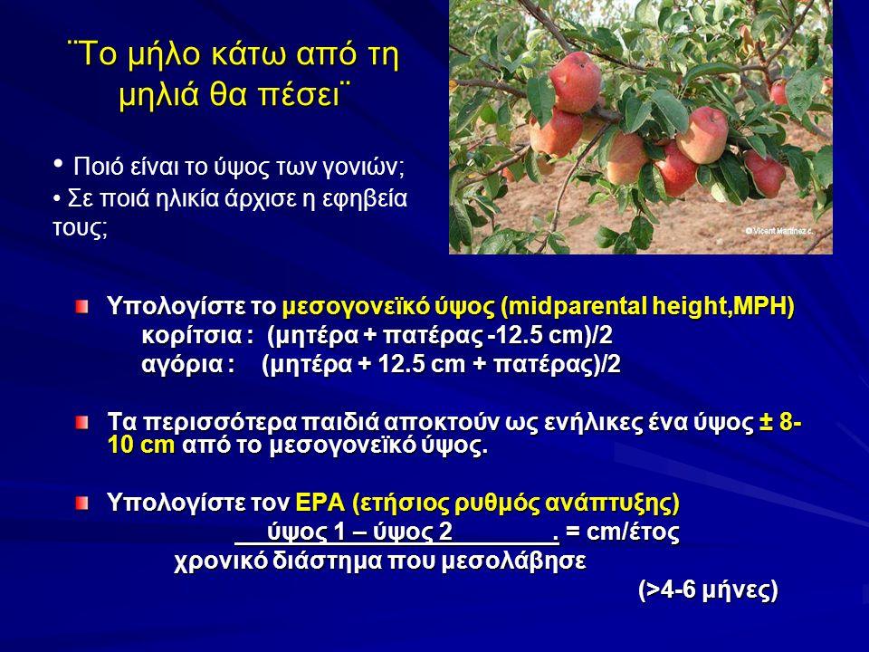 ¨Το μήλο κάτω από τη μηλιά θα πέσει¨
