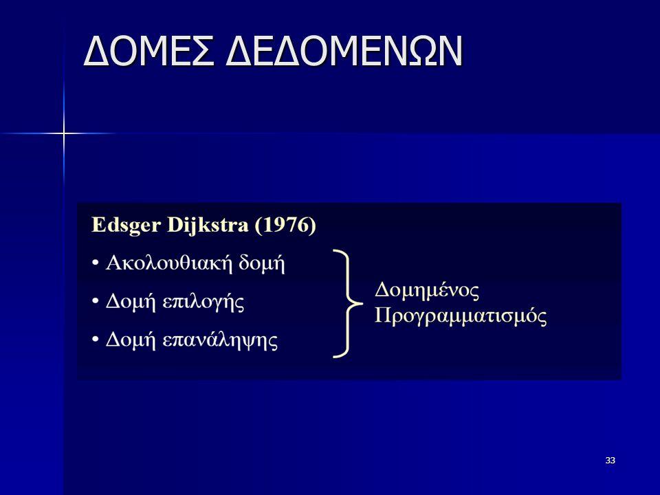 ΔΟΜΕΣ ΔΕΔΟΜΕΝΩΝ