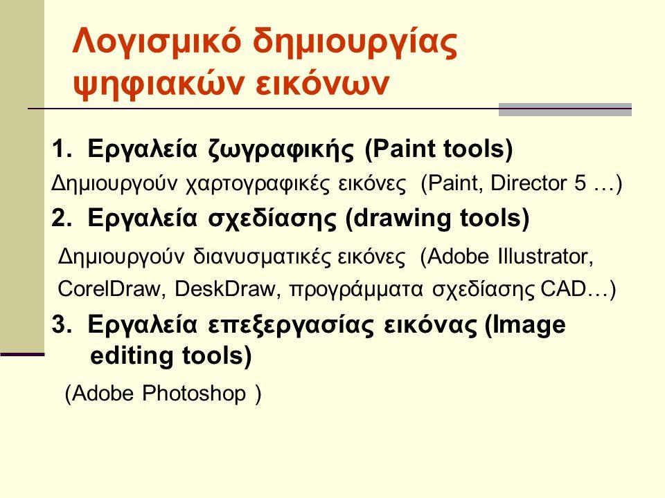 Λογισμικό δημιουργίας ψηφιακών εικόνων