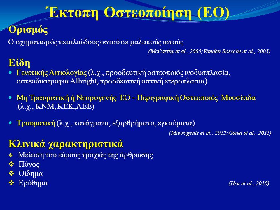 Έκτοπη Οστεοποίηση (ΕΟ)