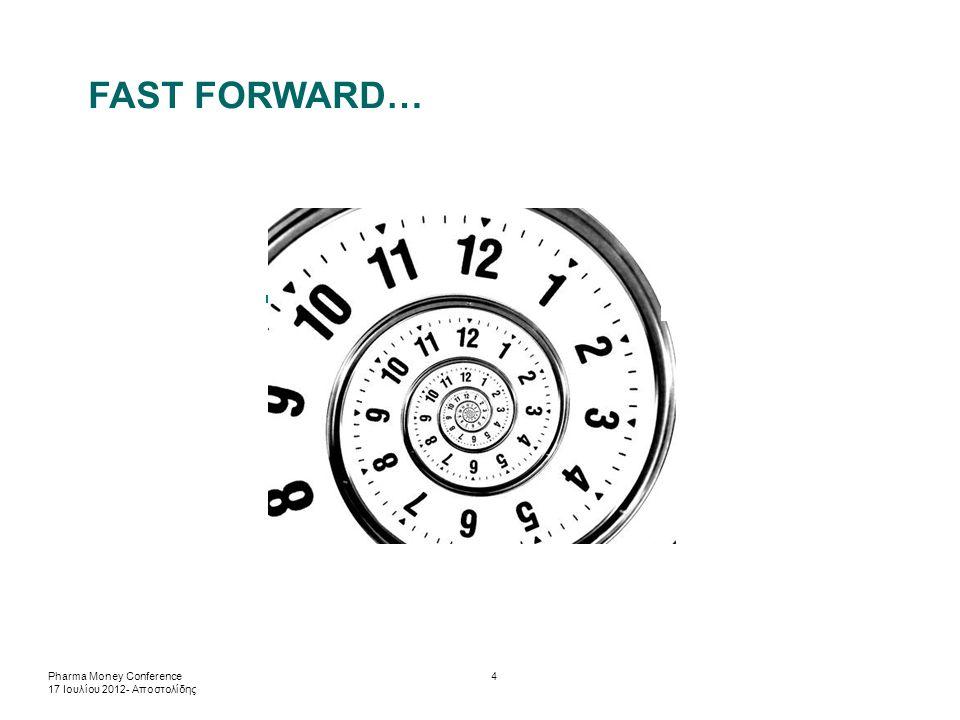 FAST FORWARD… Pharma Money Conference 17 Ιουλίου 2012- Αποστολίδης 4