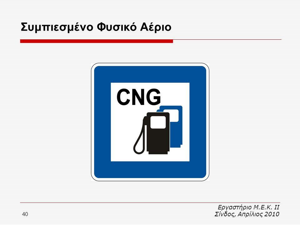Συμπιεσμένο Φυσικό Αέριο