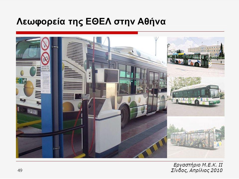 Λεωφορεία της ΕΘΕΛ στην Αθήνα