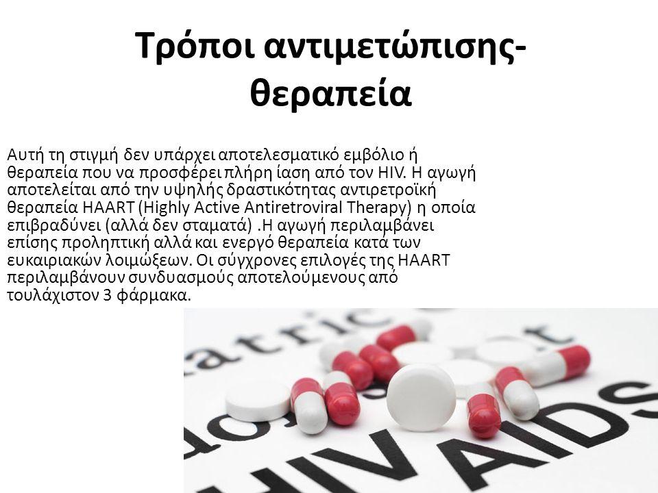 Τρόποι αντιμετώπισης-θεραπεία