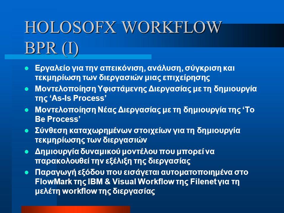 HOLOSOFX WORKFLOW BPR (I)
