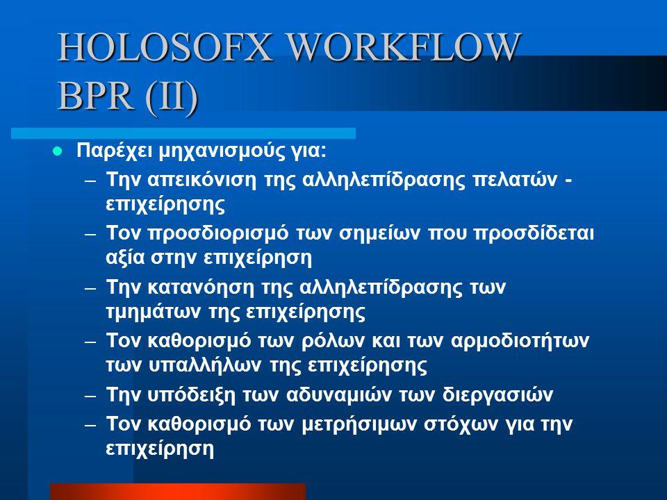 HOLOSOFX WORKFLOW BPR (II)