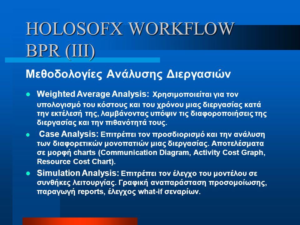 HOLOSOFX WORKFLOW BPR (III)
