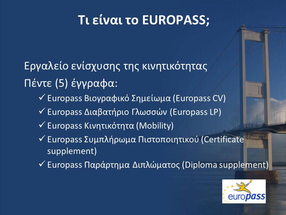 Τι είναι το EUROPASS; Εργαλείο ενίσχυσης της κινητικότητας